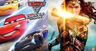 'Cars 3' superó a 'Wonder Woman' en taquilla de Estados Unidos