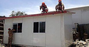Cuestionan compra de casas prefabricadas por S/ 30 millones para damnificados