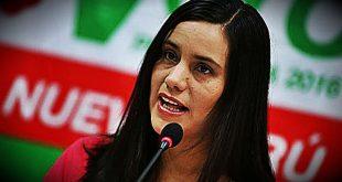 Verónika Mendoza tildó de penoso el mensaje de PPK
