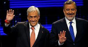 Sebastián Piñera y Alejandro Guillier pasan a la segunda vuelta en Chile
