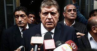 Alan García pidió que PPK vaya a comisión Lava Jato
