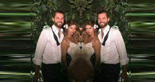 Stephanie Cayo entonó esta romántica canción a su esposo en su boda