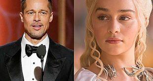 Brad Pitt ofreció 120 mil dólares por cita con Emilia Clarke