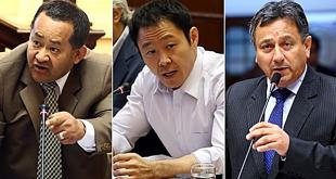 Pleno del Congreso suspendió a Kenji Fujimori, Guillermo Bocangel y Bienvenido Ramírez
