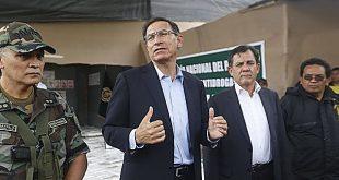 Desaprobación de Martín Vizcarra sube de 19% a 44% en solo un mes