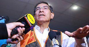 Vizcarra rechaza norma contra publicidad estatal